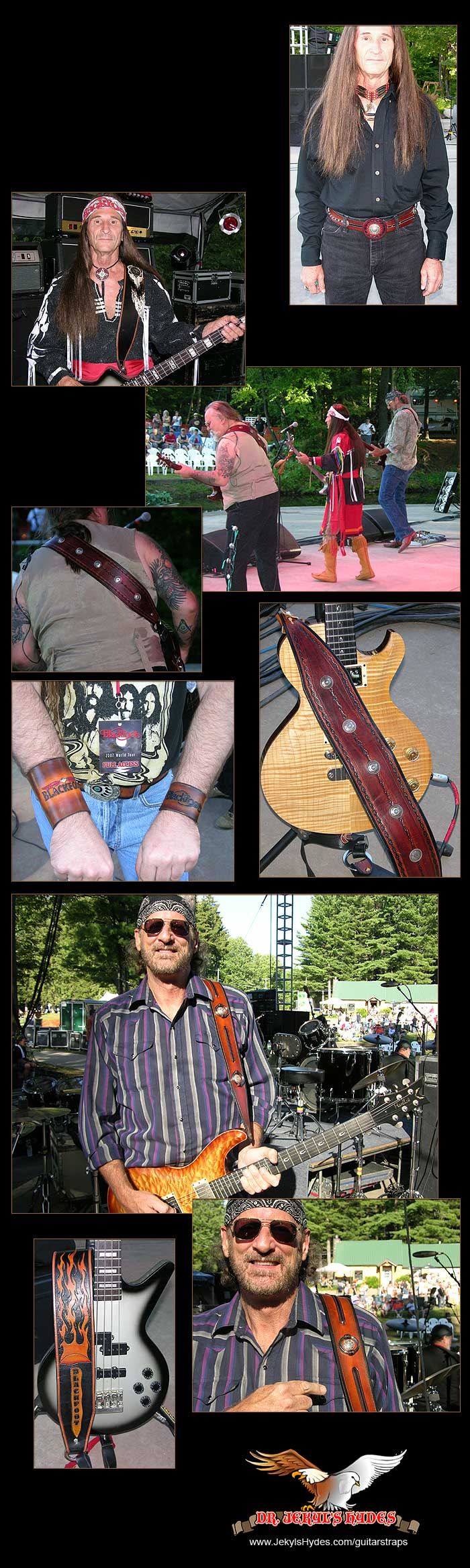 Dr. Jekyl's Hydes Guitar Straps